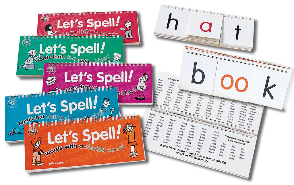 Lets Spell Red 3 Letter Words Springboard Supplies