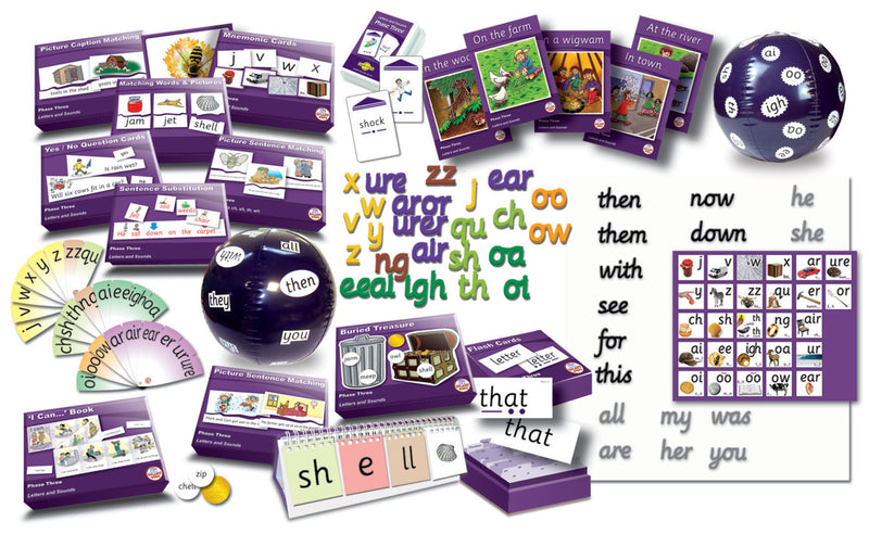Letters & Sounds Phase 3 Kit