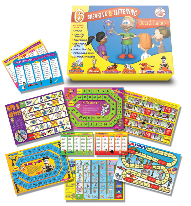 Speaking and Listening Games Set pk 6