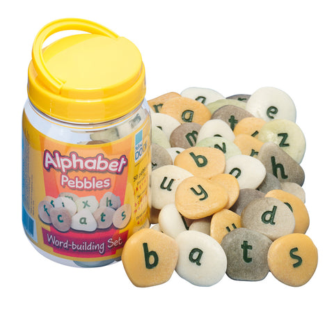 Alphabet Pebbles Word Building Set pk 50