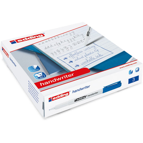 edding-Handwriting-Pen-(Blue)-Class-Pack-pk-200