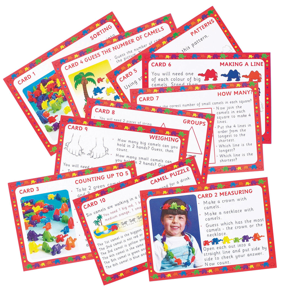 Connecting Camels Early Number Cards pk 10