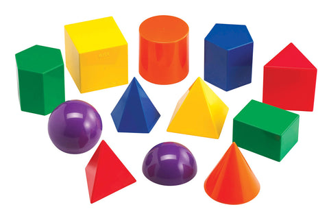 Geometric Solids pk 12