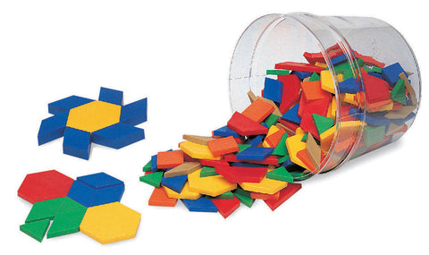 Rainbow Pattern Blocks pk 250