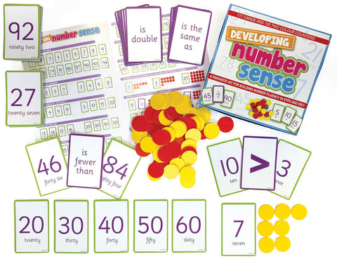 Developing Number Sense Bumper Set