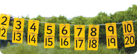 Number Washing Line 0-20
