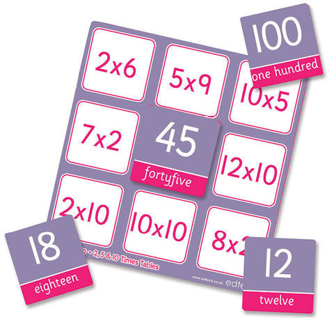 Times Table Bingo