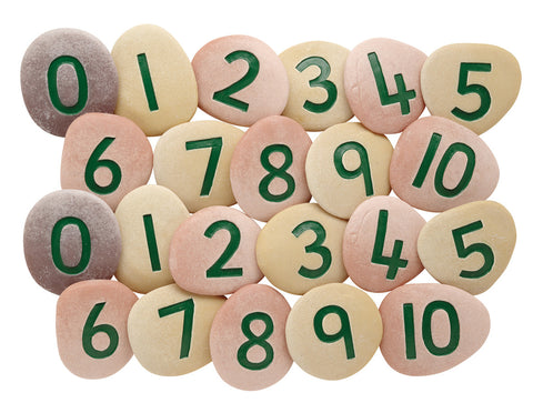 Jumbo Number Pebbles pk 22
