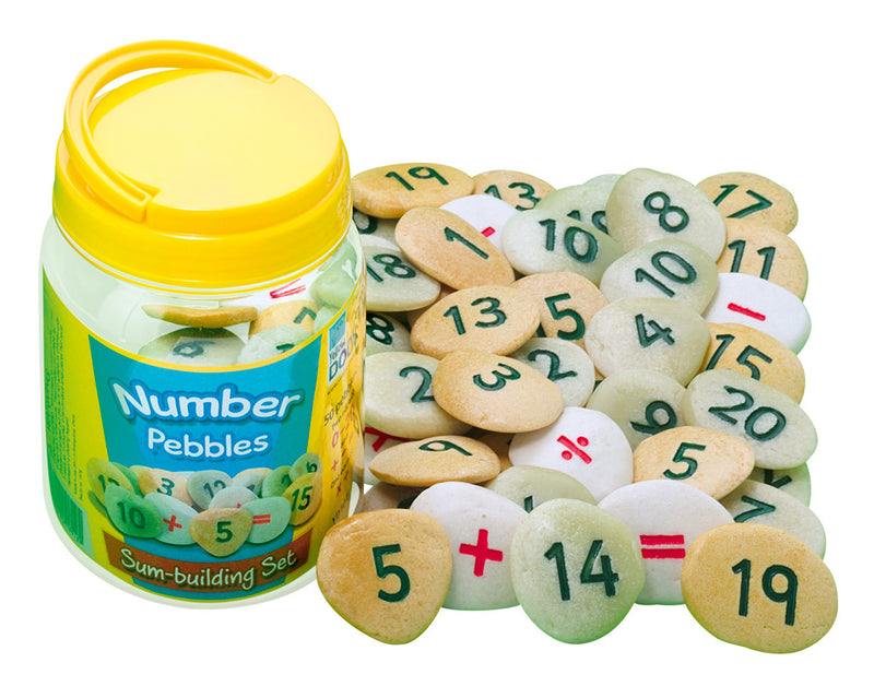 Sum Building Number Pebbles pk 50