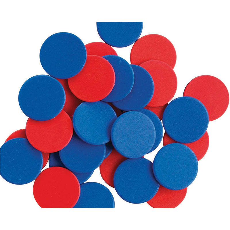 Two-Colour-Counters---Red/Blue-pk-200