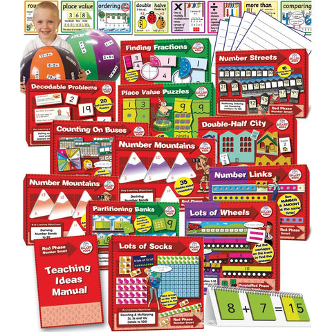 Numeracy-Smart-Red-Phase-Kit-(Year-1)-