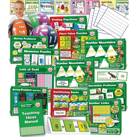 Numeracy-Smart-Green-Phase-Kit-(Year-2)-