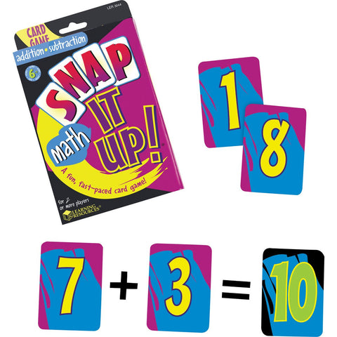 Snap It Up Addition/Subtraction Game