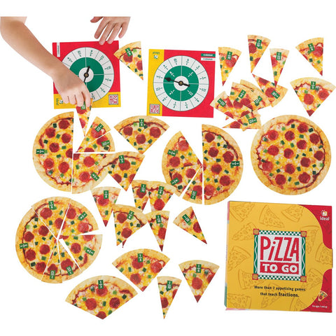 Pizza to Go Fraction Game