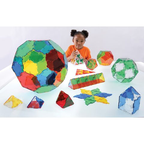 Crystal Polydron Class Set 184pc