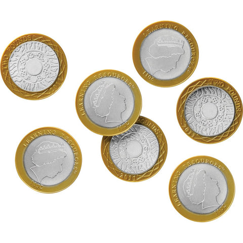 Role Play Money - £2 Coins pk 50