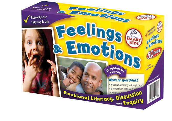 Feelings & Emotions Cards pk 50
