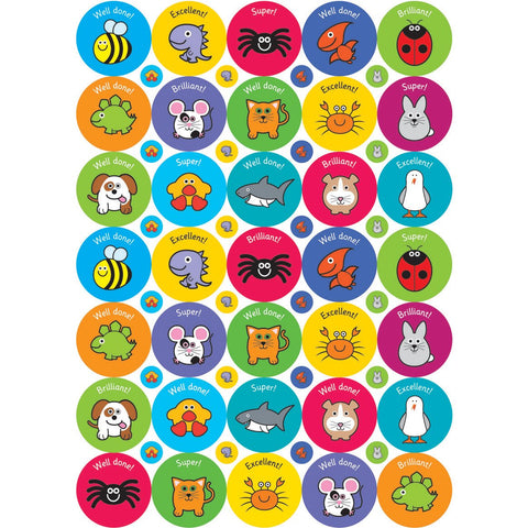 Exclamations-Stickers---38/10mm-pk-10