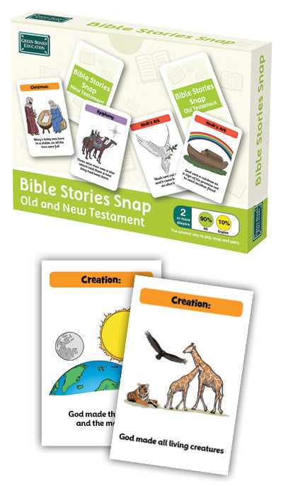 Old & New Testament Bible Stories Snap