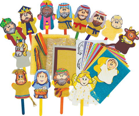 Nativity Stick Puppets pk 30