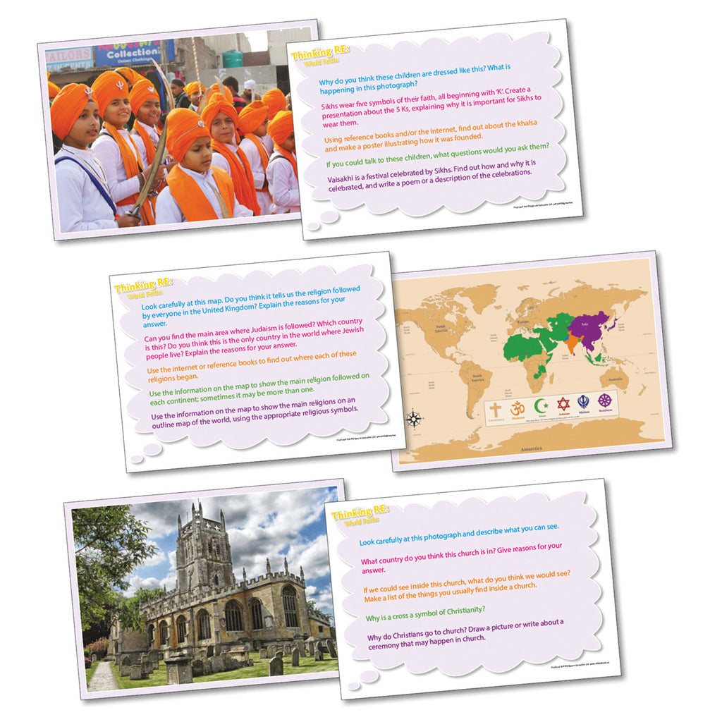 Thinking Cards - World Religion pk 20