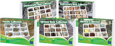 Rocks, Minerals & Fossils Collection pk57