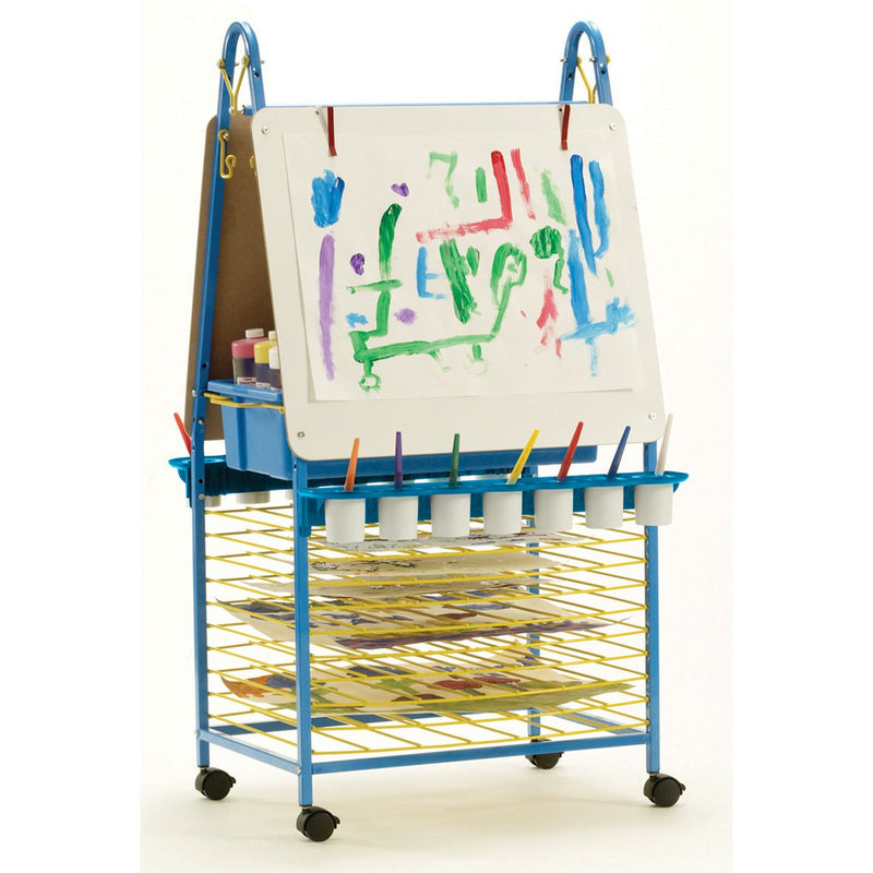 Double-Sided-Easel-with-Dryer-