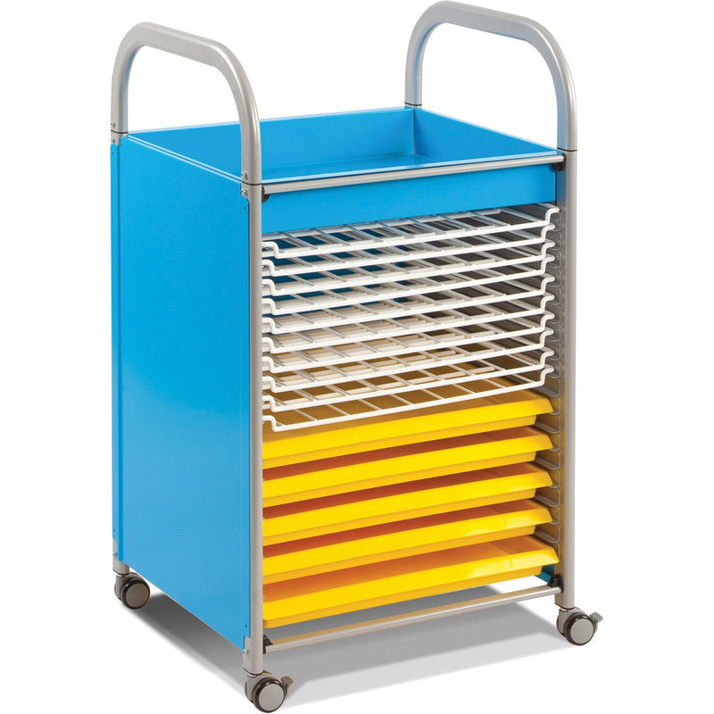 Callero-Art-Trolley-with-Trays-and-Drying-Rack-