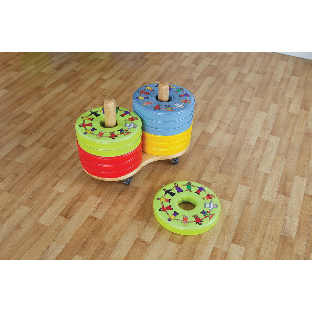 Children-of-the-World-Donut-Cushions-with-Tuf-Trolley-pk-12