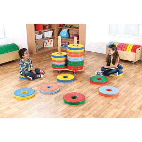 Donut-Bi-Colour-Cushions-with-Trolley-pk-24