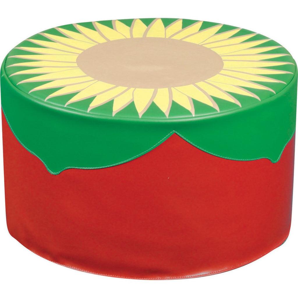 Back-to-Nature̴åÈ-Sunflower-Pouf-