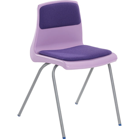 NP Classroom Chair with Seat/Back Pad