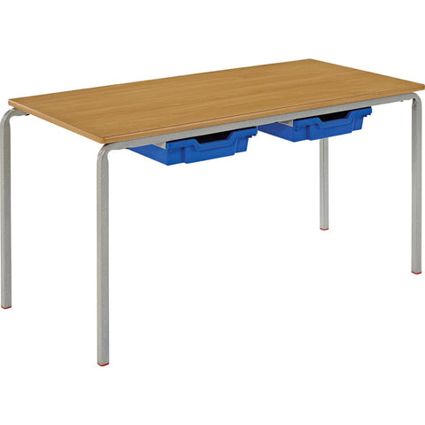 Crushed-Bent-Classroom-Table-(MDF-Bullnose-Edge)---Rectangular-1100x550mm-(with-2-trays)-