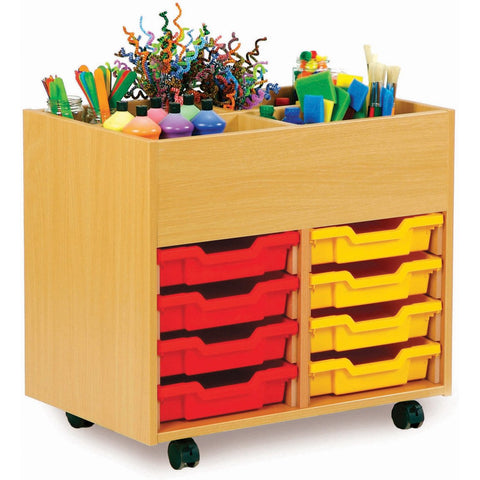 4-Bay-Kinderbox-with-8-Shallow-trays---Beech-