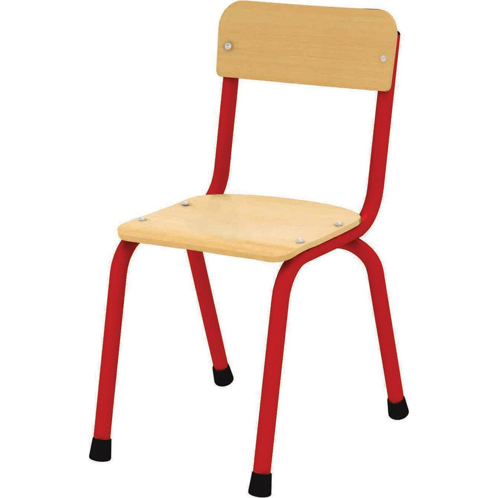 Milan-Chair-310mm---Red--pk-4