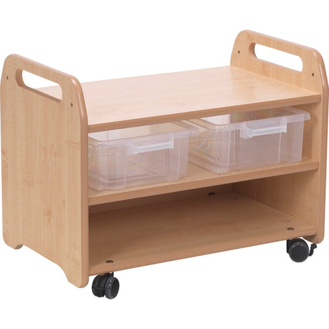 Easel-Stand-and-Storage-Trolley-