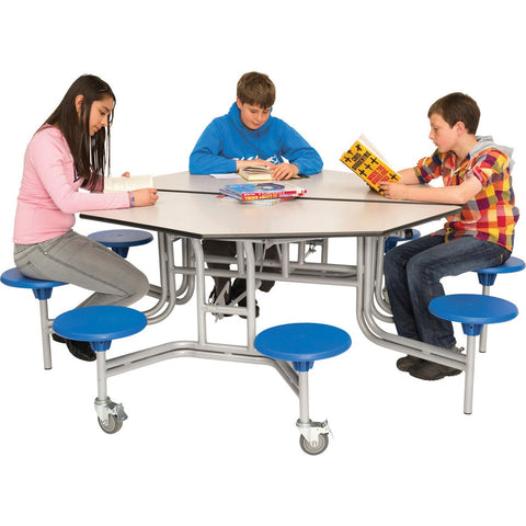 Octagonal-Mobile-Folding-Dining-Table---8-Seat-Unit-(685mm)-