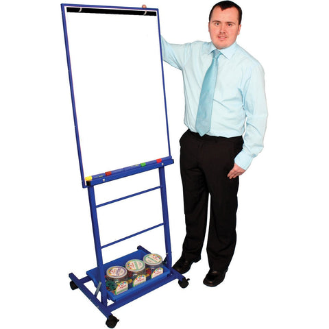 Single-Boarded-Mobile-Easel-Portrait-Style---Blue-