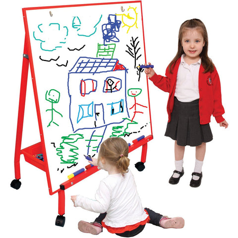 Big-A-Frame-Mobile-Easel---Red-