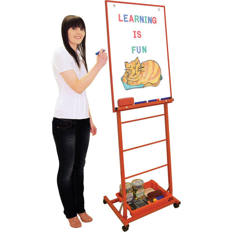Single-Boarded-Mobile-Easel-Portrait-Style---Red-
