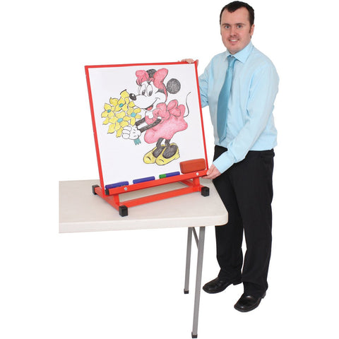 Large-Multipurpose-Desktop-Easel---Red-