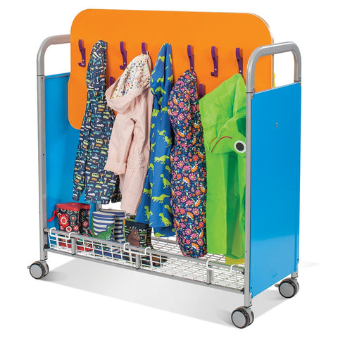 Callero Plus Cloakroom Trolley