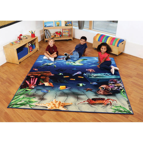 Under the Sea Double-Sided Carpet