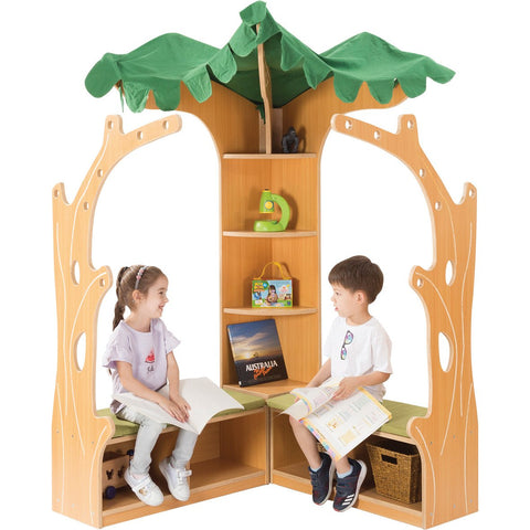 Tree House Library Corner