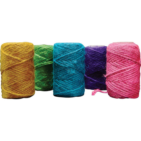 Jute-Yarn-(Assorted-Colours)-pk-5