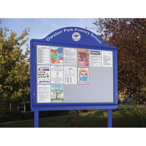 WeatherShield Freestanding Outdoor Contour Sign
