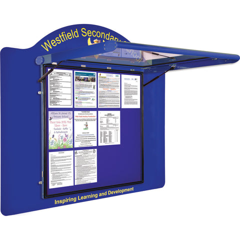 WeatherShield Wall-Mounted Outdoor Contour Sign