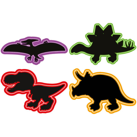 Dinosaur Chalkboards (Set of 4)