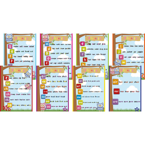Phonics Signs (Set of 8)