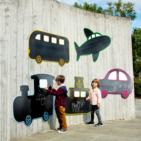 Transport Chalkboards pk 5